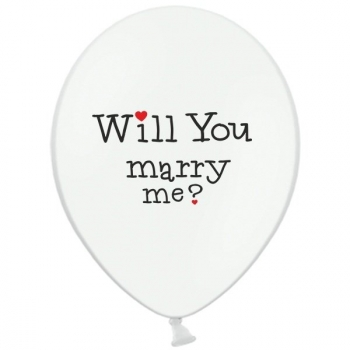 Ballon - Will You Marry Me? Yes!