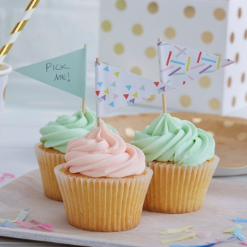 Cupcake Sticks Sprinkles Pick & Mix - bunt