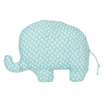 dekofieber online shop elefantenkissen elliot blau. Black Bedroom Furniture Sets. Home Design Ideas