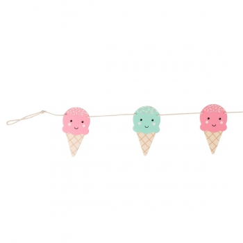 Girlande Happy Icecream