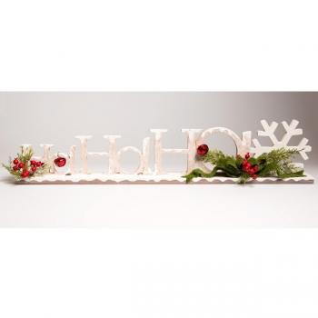 dekofieber online shop ho ho ho weihnachtsdekoration. Black Bedroom Furniture Sets. Home Design Ideas