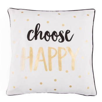 Kissen Choose Happy