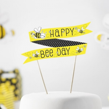 Kuchentopper Happy Bee Day Biene