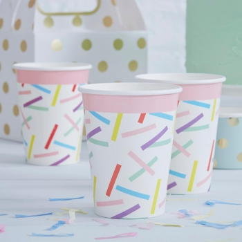 Party Becher Pick And Mix Sprinkles - bunt