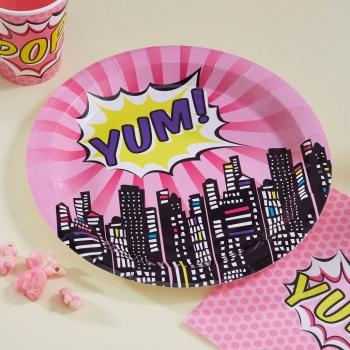 Party Teller Yum - Superhero Pink