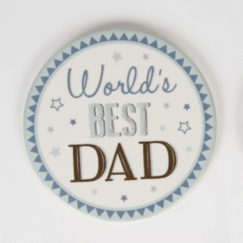 Untersetzer Best Dad - World's Best Dad