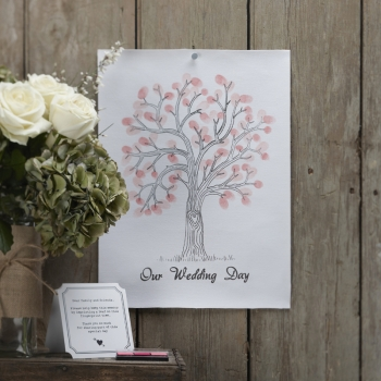 Wedding Tree - rosa/pink