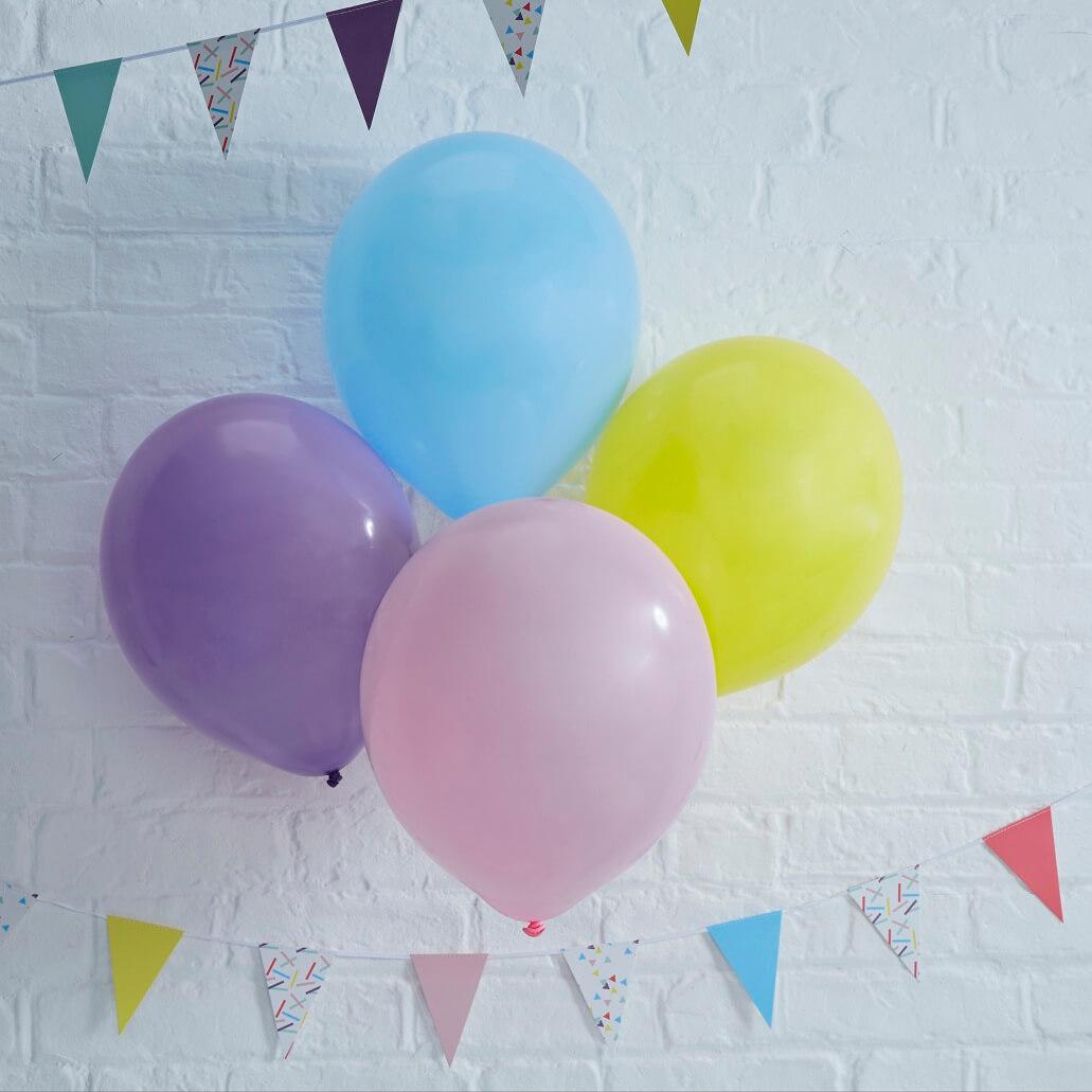 dekofieber online shop ballons pick mix bunt. Black Bedroom Furniture Sets. Home Design Ideas