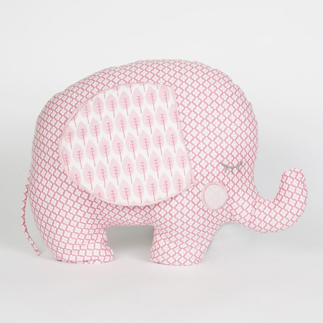 dekofieber online shop elefantenkissen ella rosa. Black Bedroom Furniture Sets. Home Design Ideas