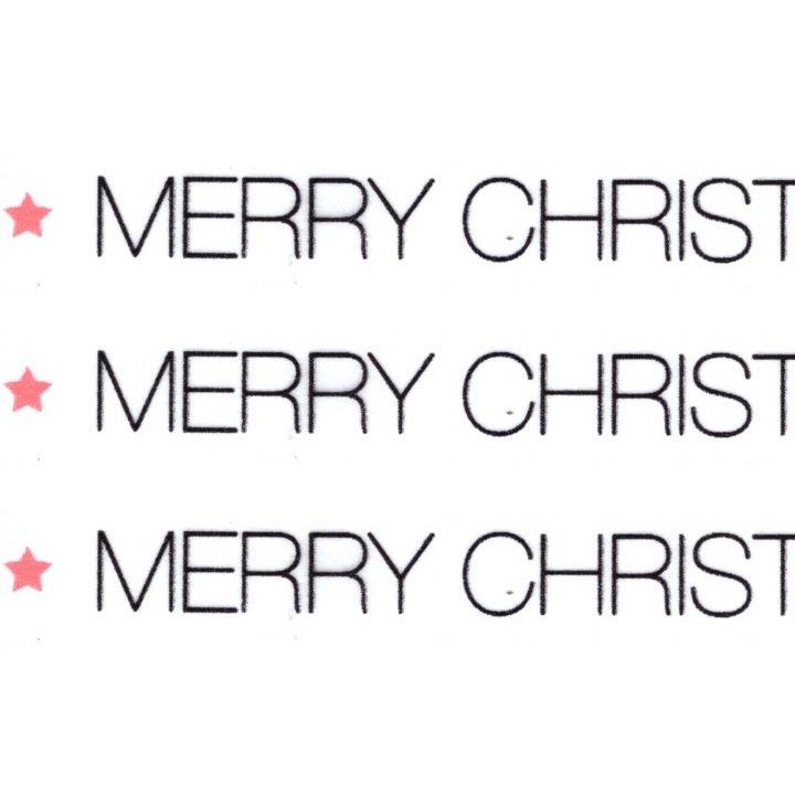 washi masking tape merry christmas blackwhite - Merry Christmas Black And White