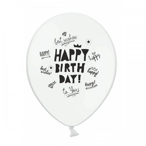 ballons-6-happy-birthday-best-wishes-schwarz-weiss-2