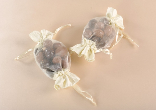 Organza Candy Bag Ivory