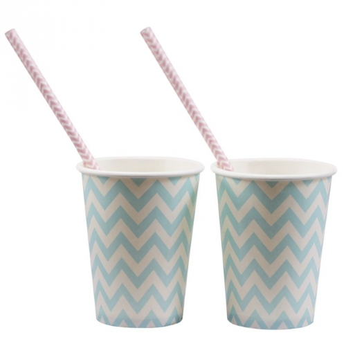 Party-Becher Chevron Divine - hellblau
