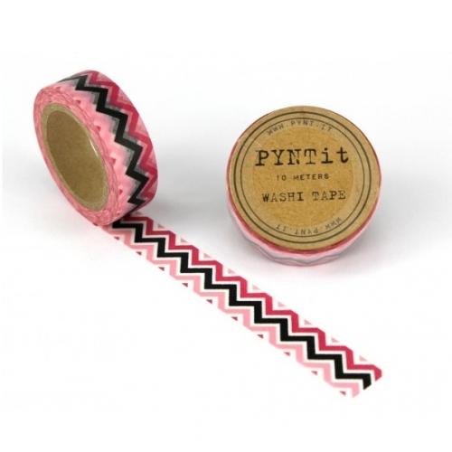 washi masking tape chevron rosa pink schwarz. Black Bedroom Furniture Sets. Home Design Ideas