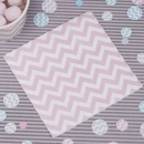 Papierservietten Mini Chevron Divine